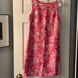 Talbots silk dress. Size 6.